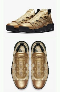 "Nike air ""more money"" gold"
