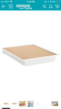 South shore platform bed- Full size Bakersfield, 93312
