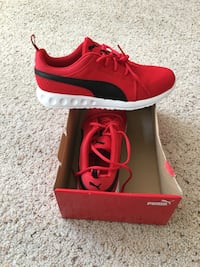 New men's puma running shoes with comforttech sole size 10.5