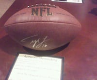 Autographed Tyler Locket NFL Football Lincoln, 68522