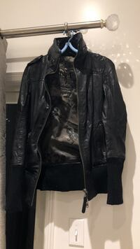 Mackage leather jacket XXS