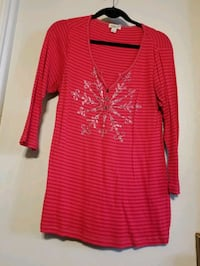 Red Christmas top size XL Milwaukee, 53202