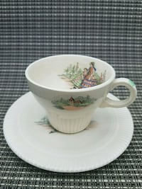SET OF 2 CUPS & SAUCERS