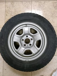 All season rims and tires FOR CHEAP. 205/70R16 Mississauga, L5M 6J3