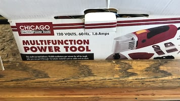 MULTIFUNCTION POWER TOOL ALMOST NEW