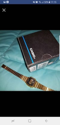 Orologio digitale vintage Casio in oro con scatola Salerno, 84129