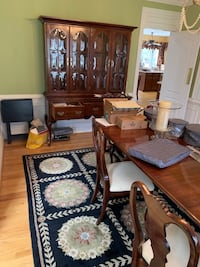 Dining room set with China cabinet and bar Fairfax