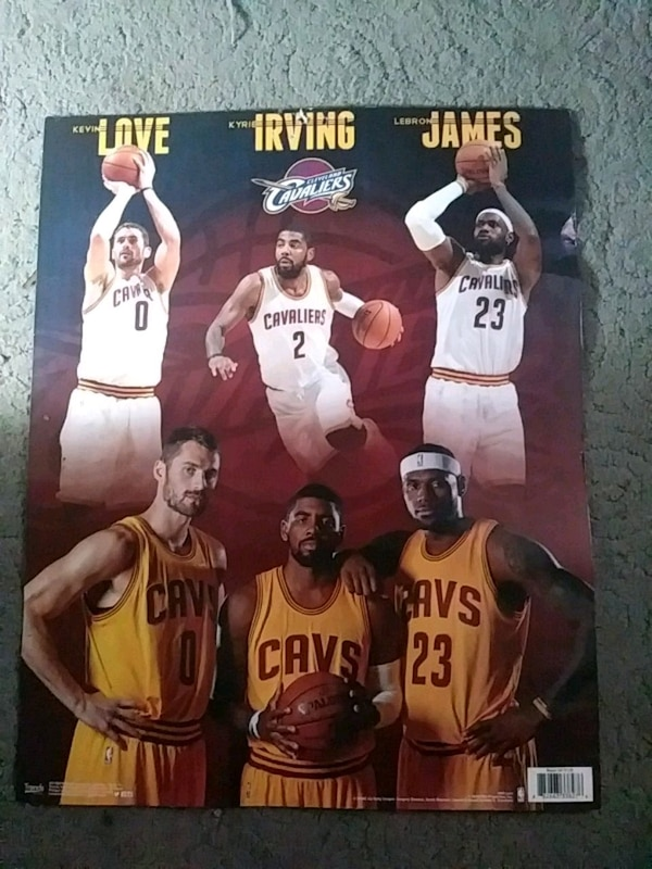 on sale 4a1fd 6c457 Cleveland Cavaliers Poster