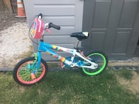toddler's blue and green bicycle Bakersfield, 93313