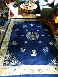 1930s antique Chinese rug. Seattle, 98116