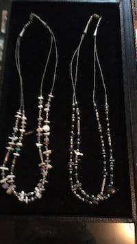 Navajo Double Stranded Fetish Necklaces Cottonwood, 86326