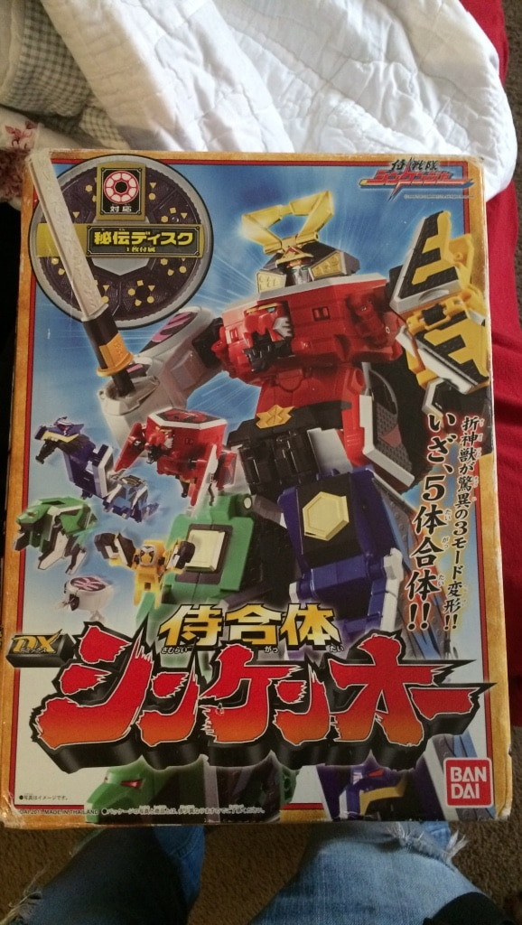 multicolored Zoids robot box for sale  Augusta