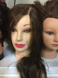 Mannequin heads for Cosmetologist