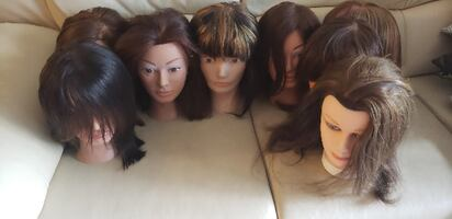 Mannequin Head for Hairstylists