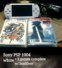 white psp with 2 games + charger and 3gb memory McMinnville, 97128