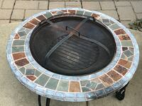Stone mosaic Fire Pit for outdoor Plano, 75093