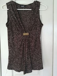 women's black and gray sleeveless top Laval, H7W 2R8