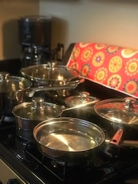 Mainstays Stainless Steel cookware set Jessup, 20794