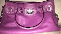 women's pink leather tote bag Toronto, M9N 1Z5