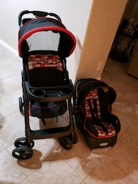 Set of Stroller and car seat with base  North Las Vegas, 89030