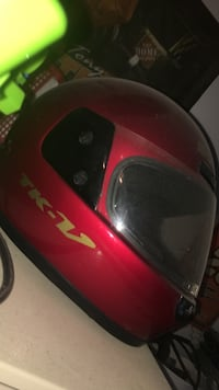 Red and black full face motorcycle helmet Magnolia, 19962