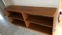 Brown wooden 3-layer shelf Calgary, T2A 3H3