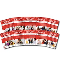 Gmat latest book set and a questionnaires
