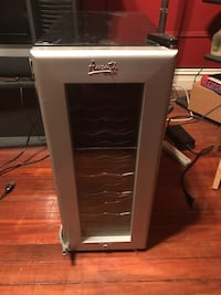 gray Avanti wine cooler