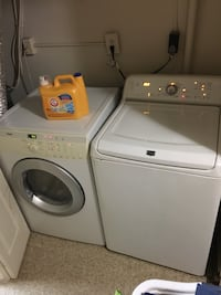 white washer and dryer set 42 km