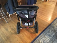 black and gray jogging stroller Arlington, 22206