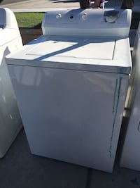 white top-load clothes washer 2227 mi