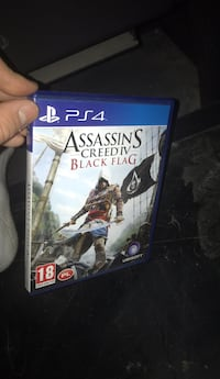 Sony PS4 Assassin's Creed IV Black Flag-saken 6247 km