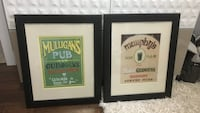 Two mulligan's pub and murphy's pub wall decors Abbotsford, V4X