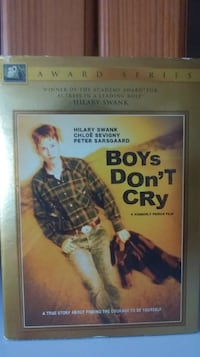 Must go! Boys Don't Cry dvd. Good condition. Locat Simcoe