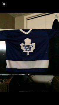 blue and white Toronto Maple Leafs jersey Calgary, T2A 2J5