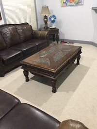 2 sofas , coffee table with 2 end tables and 2 lamps Edmonton, T6W 0R4