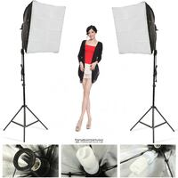 1000w Photo Video Continuous Softbox Lighting Kit