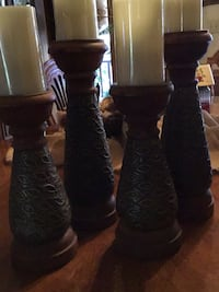 Four candle holders Thomasville, 27360