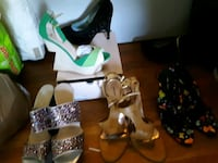 Ladies shoes 9.5/10 men's  shoes 12/13 Hyattsville, 20784