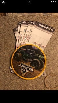 Monster Jam tickets and pit passes  Leesburg, 20176