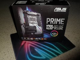 ASUS PRIME X299-DELUXE MOTHERBOARD - NEW