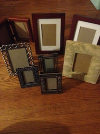 three brown wooden photo frames Toronto, M1P 4C8