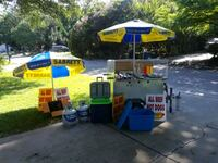Hot Dog Cart Ready To Operate North Charleston