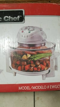 white Magic Chef halogen oven box Silver Spring, 20906