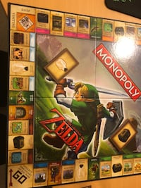 MONOPOLY LEGEND OF ZELDA EDITION ! COMPLETE SET Springfield, 22150