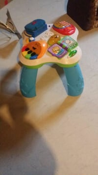 green and blue Fisher-Price learning walker Whitchurch-Stouffville, L4A 1H9