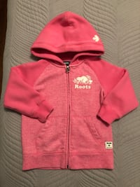 Roots Kids Zippered Hoodie Size 3T Excellent Condition Toronto, M9C 4W1