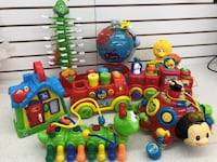 (65t2) Fisher-Price Play to Learn Toys – from 5$