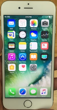 16GB Factory Unlocked iPhone 6 - White/Silver  New York, 10018