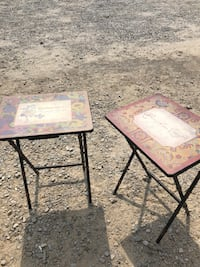 two brown wooden side tables Columbus, 43228